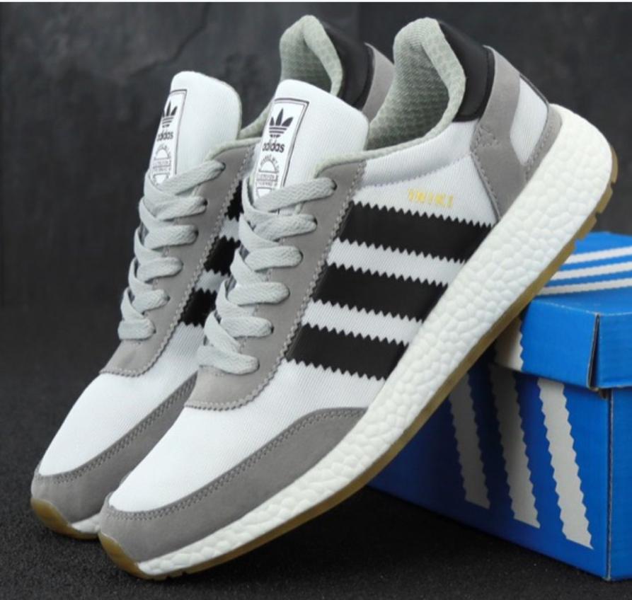 Кроссовки Мужские Adidas Iniki, Адидас иники серые