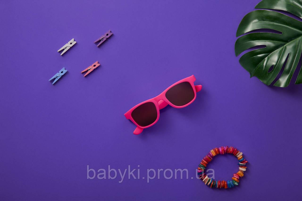 ... Детские солнцезащитные очки Koolsun неоново розовые серии Wave (Размер 1+) 9bd2120992a66