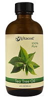 Ефірне масло чайного дерева, Vitacost, Essential Oils 100% Pure Tea Tree, 118 мл