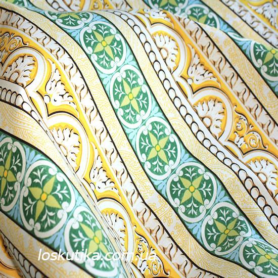 26020 Узор в мотивах. Квилтинговая ткань для шитья и рукоделия. Американский хлопок.