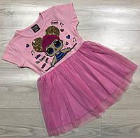 Платье  для девочки лол ЛОЛ, ,LOL  ,2-7лет