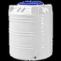 Емкость пластиковая пищевая 300 литров вертикальная