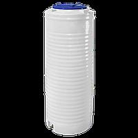Емкость 300 литров узкая, вертикальная