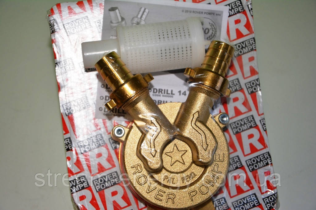 Самовсасывающий насос для дрели Rover Drill 25 (бронза)