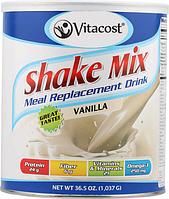 """Заменитель еды """"Ваниль"""", Vitacost, Meal Replacement Drink Vanilla, 1035 грамм"""