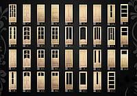 Двери деревянные неокрашенные из массива в Киеве