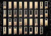 Двери деревянные неокрашенные Киев, Героев Днепра