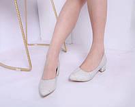 Туфли Seastar на удобном каблуке с заостренным носиком