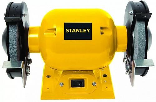 Точильный станок STANLEY STGB-3715-RU сетевой 373Вт 3450 об/мин