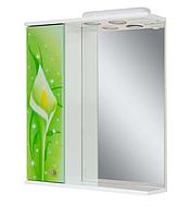 Зеркало в ванную Салатовые каллы
