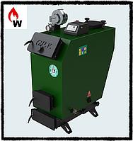 Котел твердотопливный длительного горения Gefest-profi V 55 кВт