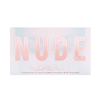 Тени для век Huda Beauty New NUDE eyeshadow palette (розовая), фото 1