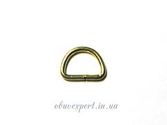 Полукольцо  проволочное 9,5*6,5 мм, толщ. 1,5 мм мобильное Золото