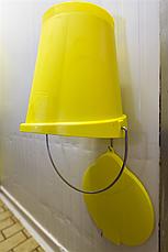 Пластиковая крышка для ведра 12 л, фото 3