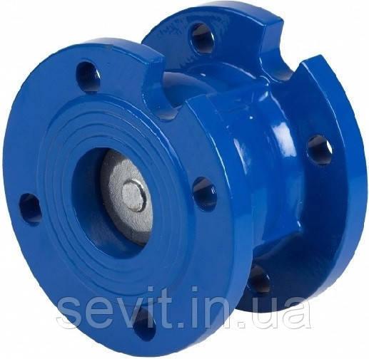 Клапан обратный подпружиненный фланцевый Genebre (Испания) тип 2450 14 DN150 PN16 ДУ150 РУ16