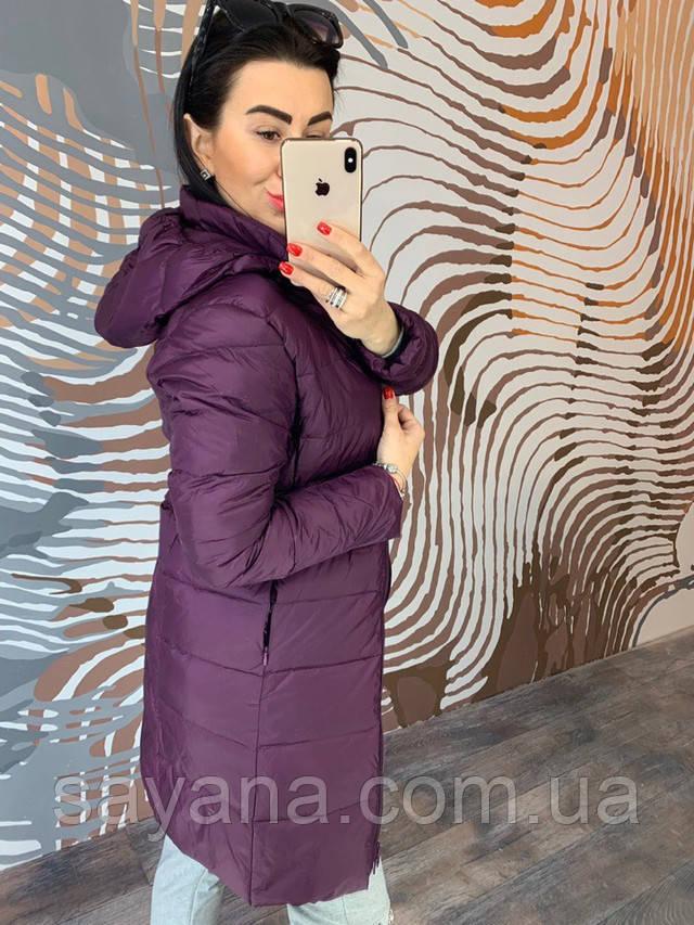 женское пальто из плащевки интернет
