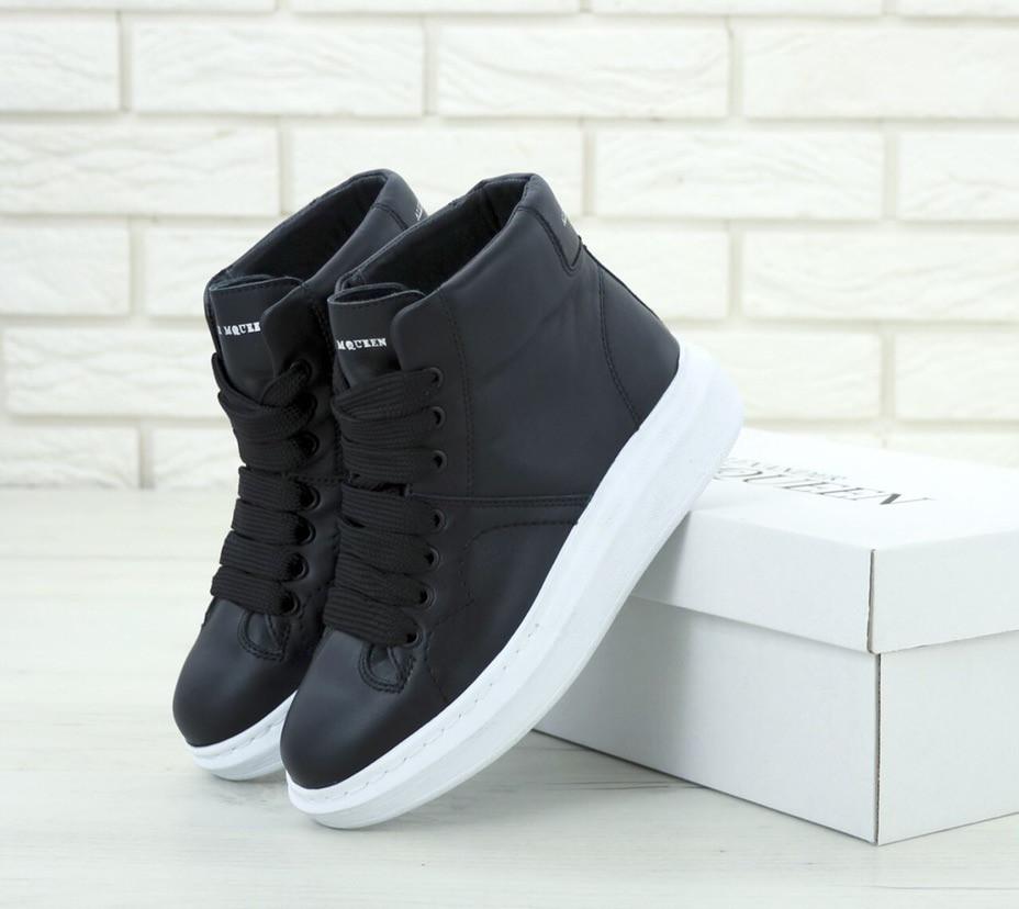 cb90f39c97f7a8 Кроссовки женские Alexander McQueen Oversized Sneakers, адидас александр  макквин, реплика - Интернет Магазин