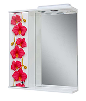 Зеркало в ванную Новая Орхидея