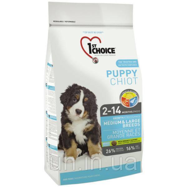 1st Choice Medium & Large Puppy сухой корм для щенков 15КГ