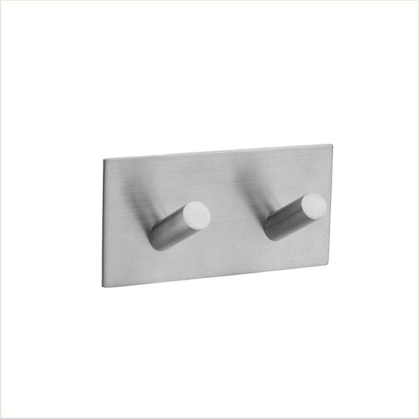 Держатель для полотенец на 2 крючка из нержавеющей стали