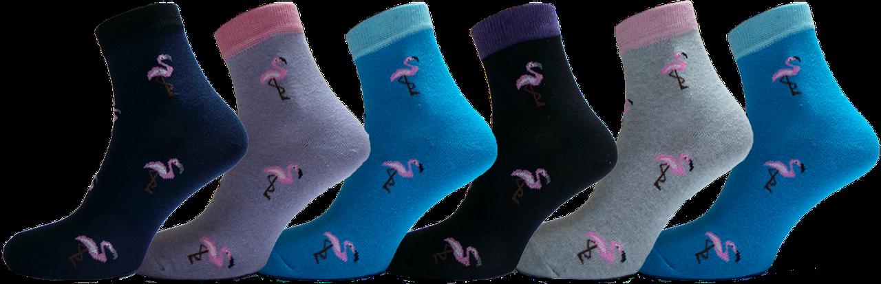 """Жіночі шкарпетки фламінго""""lomani"""""""