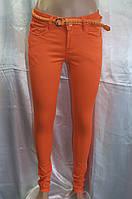 Цветные брюки бархатные 100