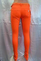 Цветные джинсы женские Д 100, фото 2