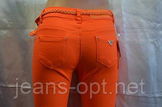 Цветные джинсы женские Д 100, фото 3