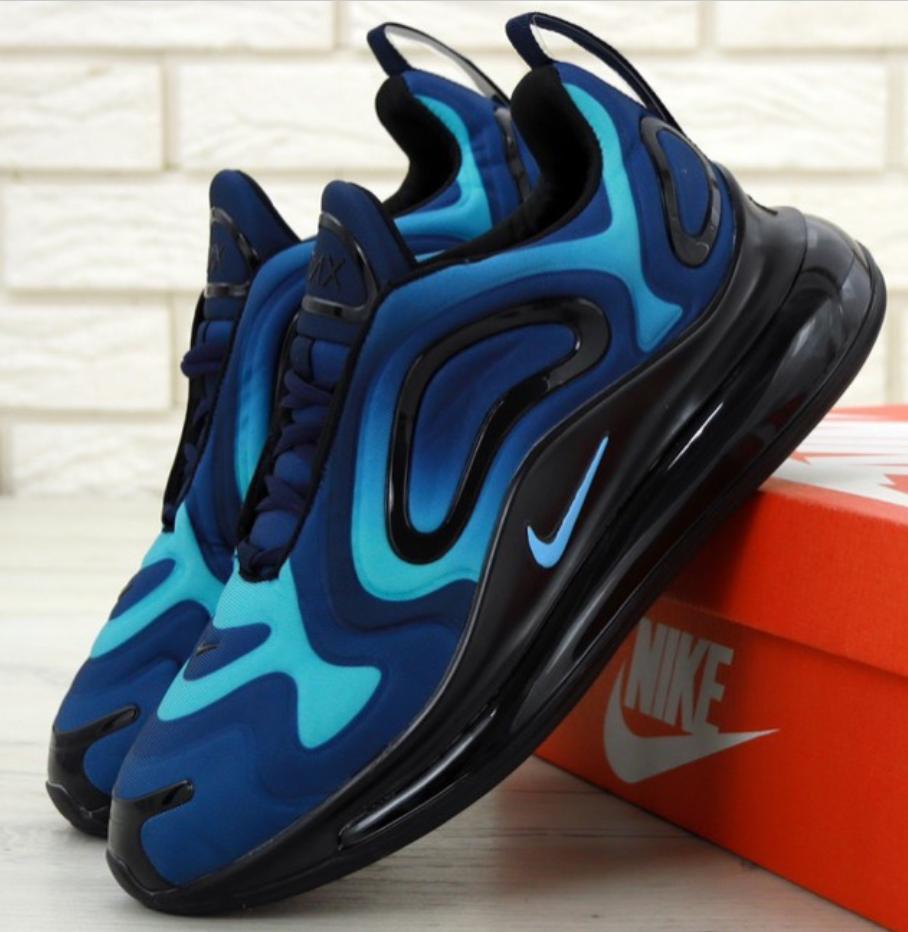 Мужские Кроссовки Nike Air Max 720 Blue (Найк Аир Макс 720)