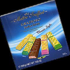 Шоколад Maître Truffout Grazioso Classic style ассорти 200 г (1уп/25шт) / Австрия /