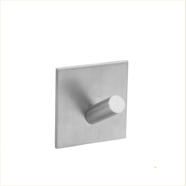 Крючок настенный металлический на липучке