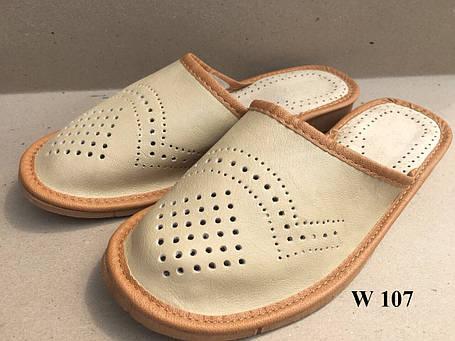Тапочки кожаные  Женские, фото 2