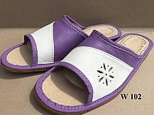 Тапочки кожаные  Женские, фото 3