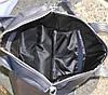 Кожаная женская сумка Nightinghale темно-синяя, фото 3
