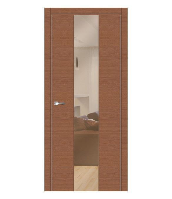 Распашная межкомнатная дверь со стеклом