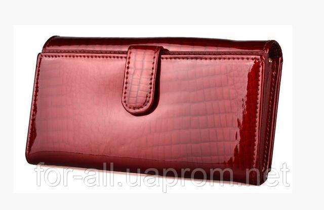 Фото женского кожаного кошелька ST S9001A Red