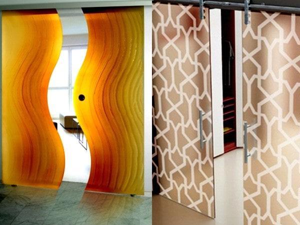 Ассиметричные межкомнатные двери
