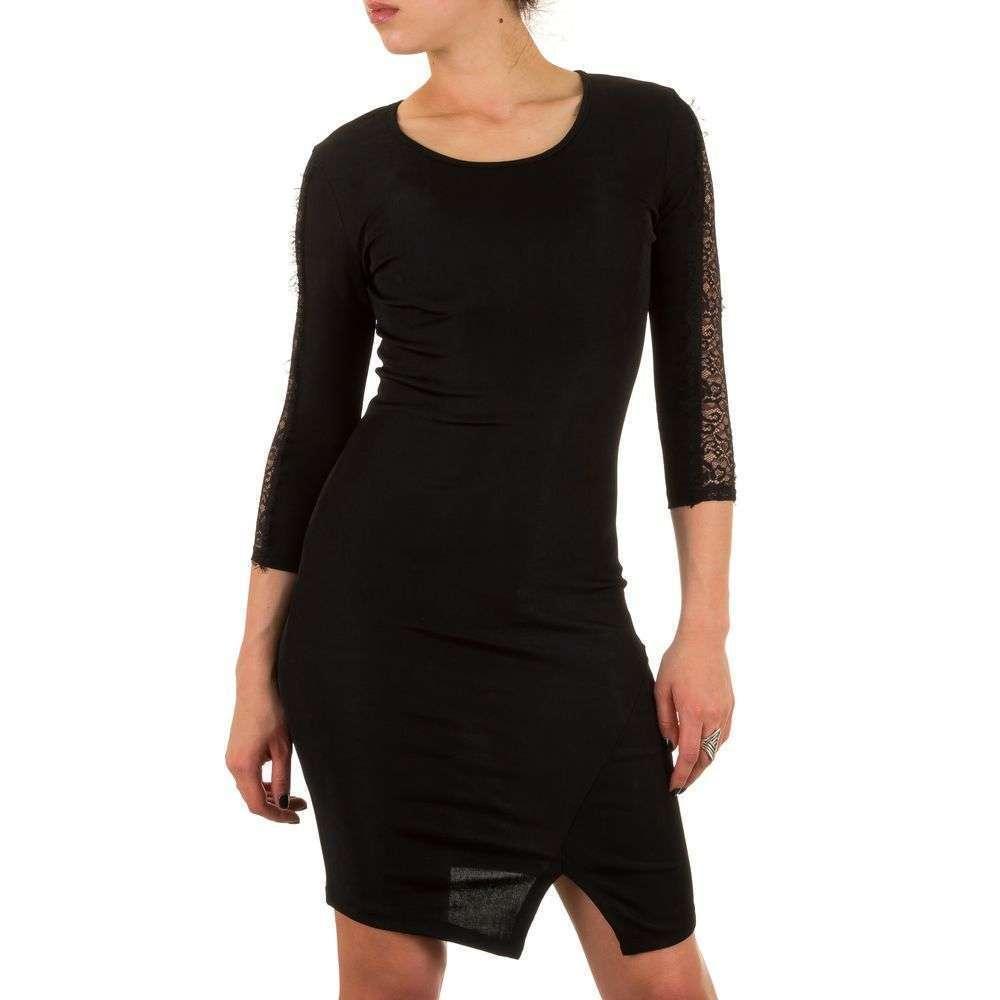 35a9095bf339 Женское платье - черный - KL-J173-black купить оптом в Украине -  интернет-магазин Denim Today.