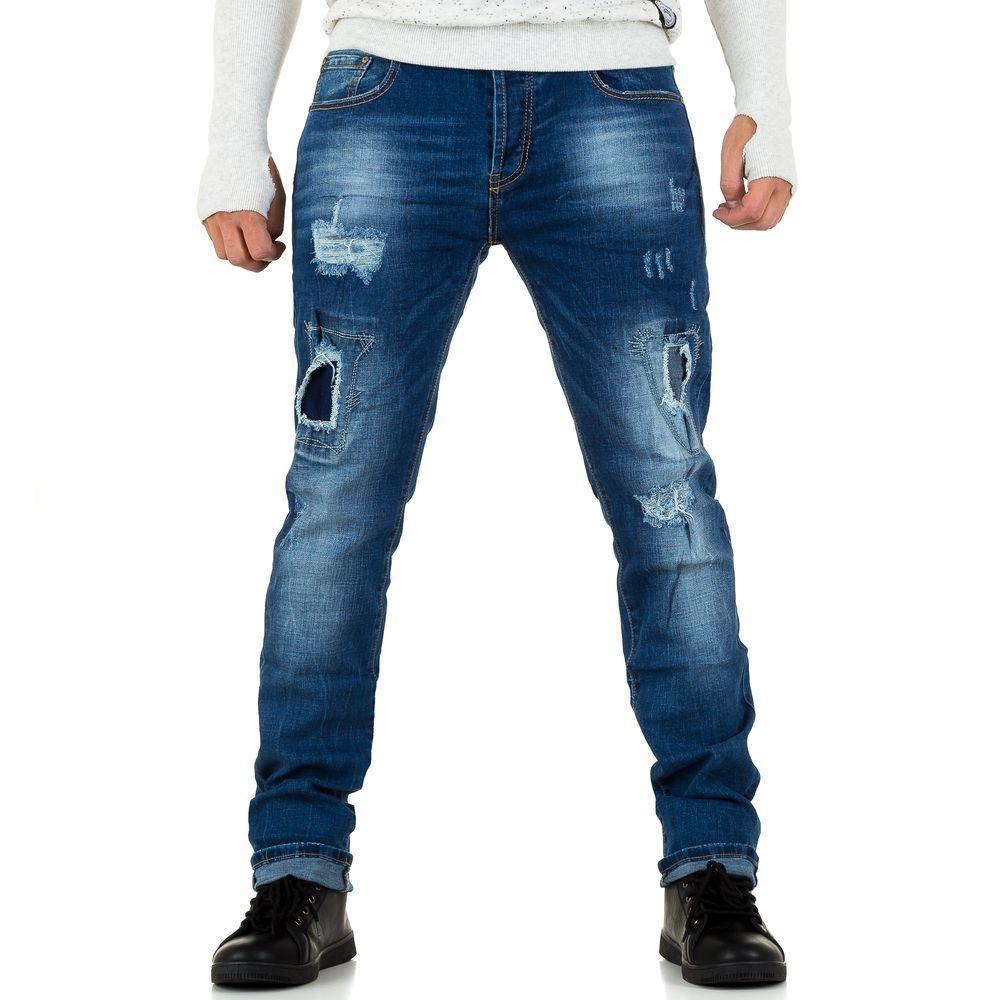 Мужские джинсы от Black Ace, размер 31 - синий - KL-H-XL001-синий 31