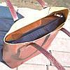 Кожаная женская сумка Флоренция крокодиловая коричневая, фото 3