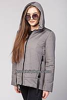 Короткая молодежная куртка с капюшоном Damader  9111, фото 1