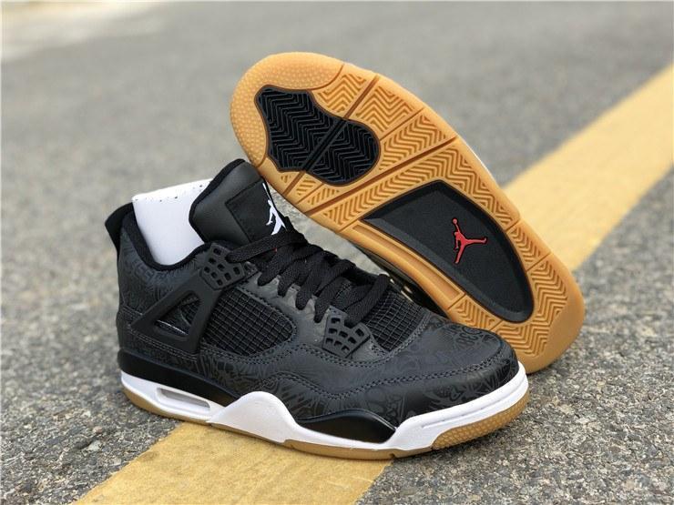 """0f023b6b Купить Баскетбольные кроссовки Air Jordan 4 """"Black/Grey"""" в Днепре от ..."""