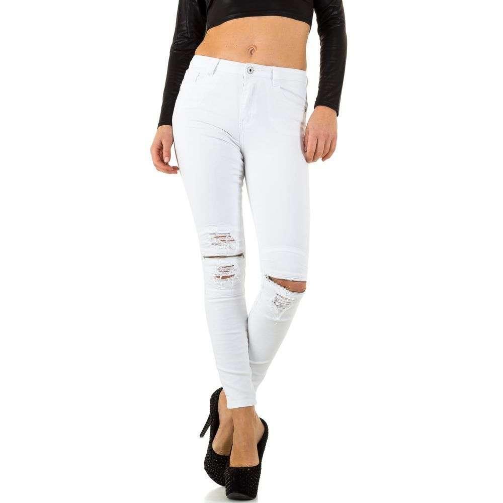 Женские джинсы от Bluerags - Блан - KL-J-26147B-Блан