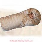 Конверт - одеяло на набивной овчине., фото 6