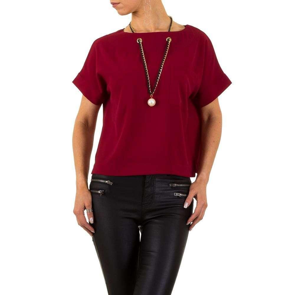 Женская блузка от Noemi Kent Paris - wine - KL-Y1211-wine