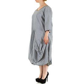 Женское платье, размер one size - серый - KL-228-grey