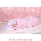Конверт-одеяло на выписку Lari велюр Мишка, фото 3
