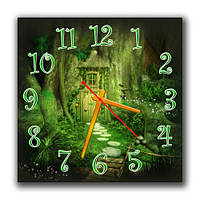 Часы настенные Волшебная дверь