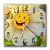Годинники настінні Щаслива ромашка А45-5