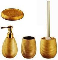 Набор аксессуаров для ванной 4 предмета керамический